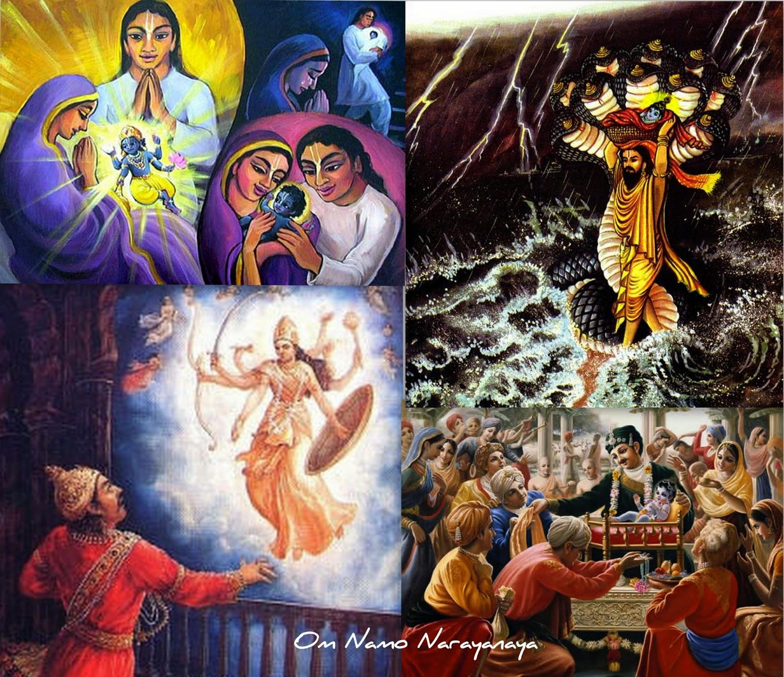 கண்ணன் கதைகள் (28) - கிருஷ்ணாவதாரம்,  கிருஷ்ணாவதாரம் / க்ருஷ்ணாவதாரம் / ஸ்ரீ கிருஷ்ண அவதாரம்