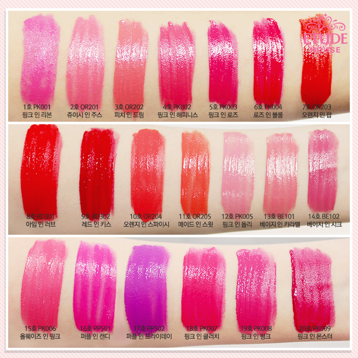 etude korea, colors of liquid lips, colors in liquid lips etude house, colors in liquid lips review, jual etude original, jual etude murah, chibis etude house korea