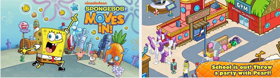 SpongeBob Moves In v4.29.00 APK+DATA
