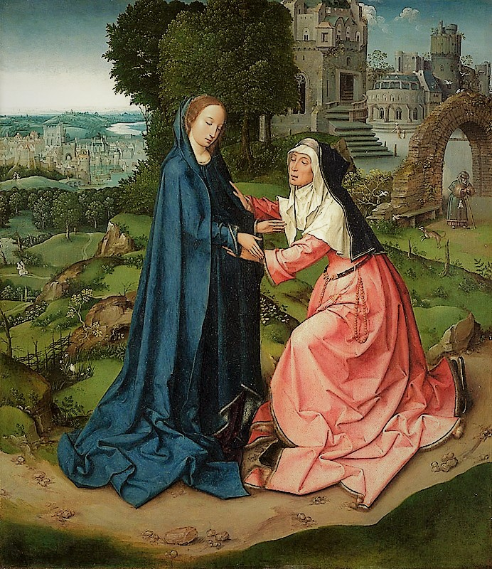 The Visitation Part II – The Kneeling Elizabeth
