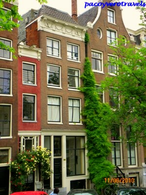 La casa mas estrecha de Ámsterdam