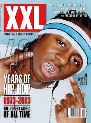 lil wayne portada de la revista xxl edicion especial 40 años de hip hop
