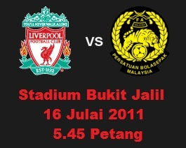 Malaysia VS Liverpool Live Streaming