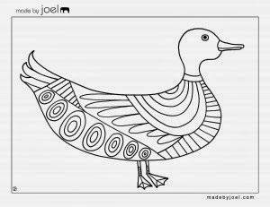 Bird coloring sheet free