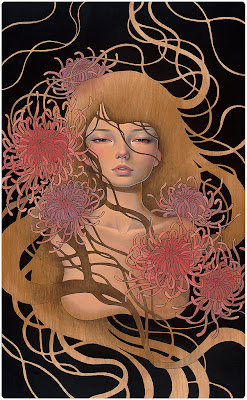"San Diego Comic-Con 2013 Exclusive ""Things Unsaid"" Print by Audrey Kawasaki"