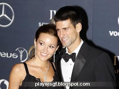 Jelena Ristic and her boyfriend Novak Djokovic