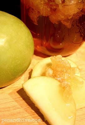 apples honeycomb