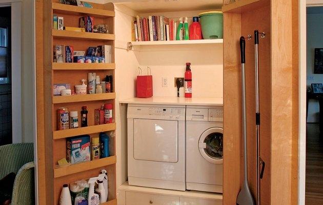 C mo integrar la lavander a en una casa ideas para for Muebles lavanderia casa