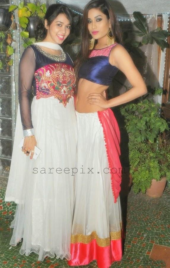 Priyanka-kotak-lehenga-Rowdy-bangalore-diwali-celebrations