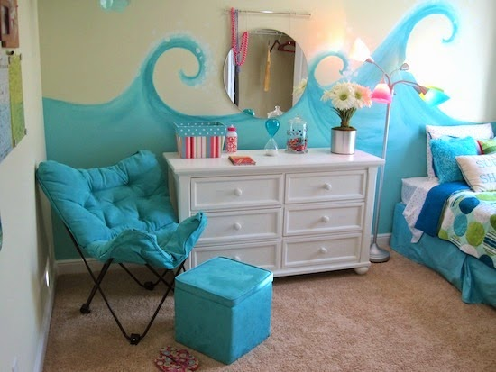 beach theme bedroom ideas for girls room