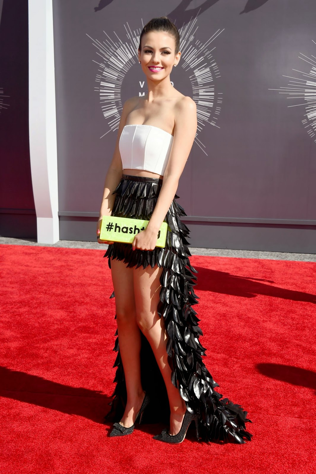 Victoria Justice – 2014 MTV Video Music Awards in Inglewood #VMA