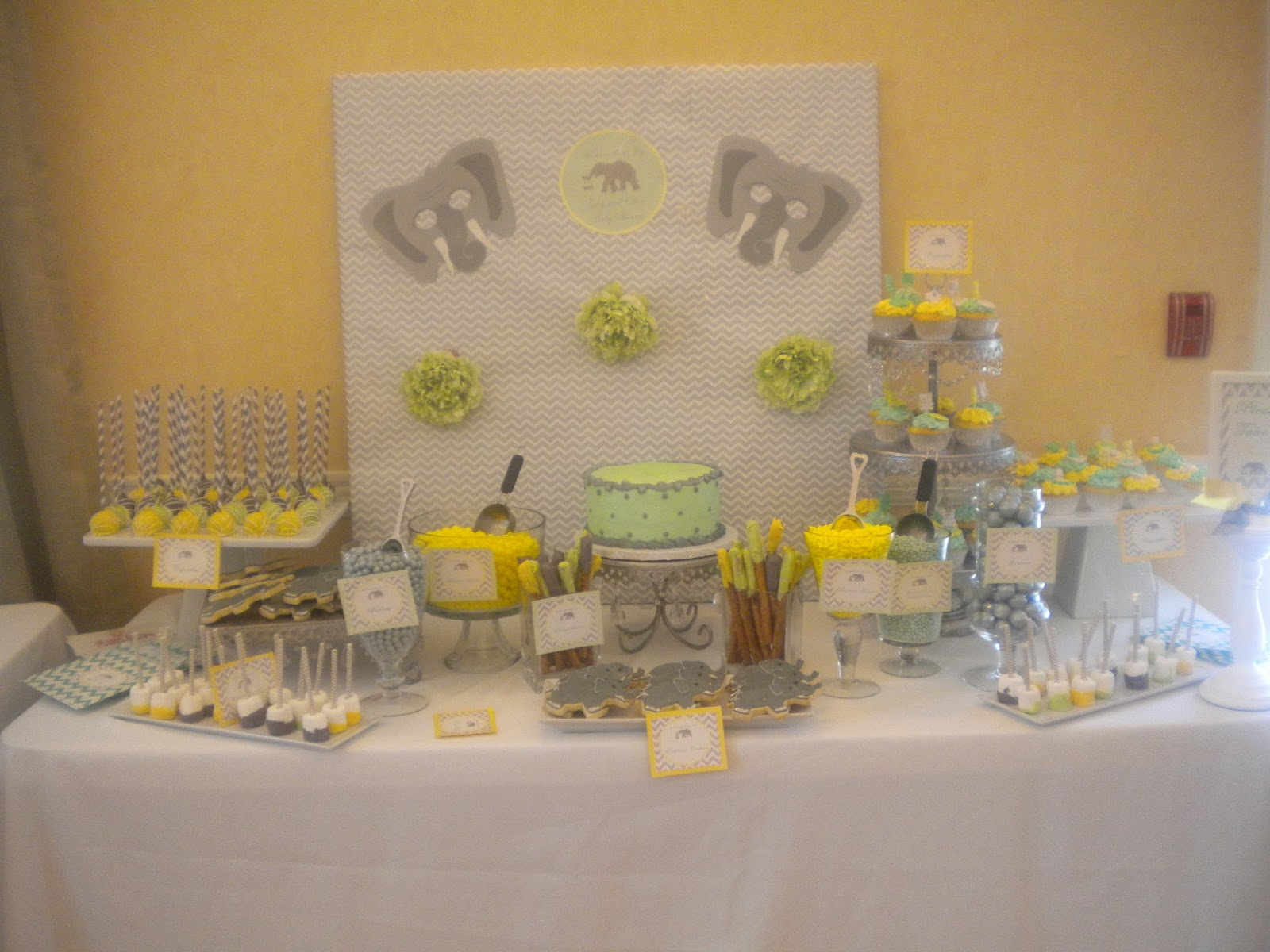 baby shower decorating ideas for dessert table