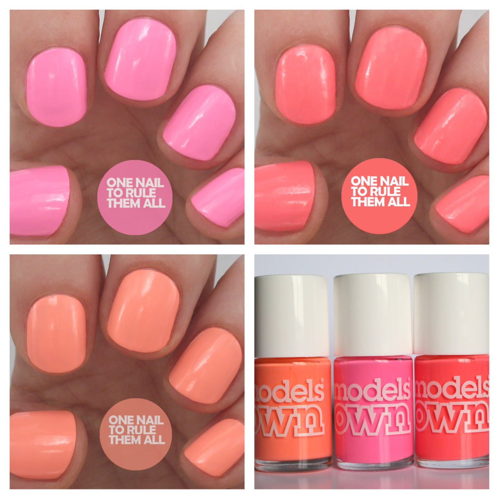 One Nail To Rule Them All: Review Week, Day 1: Models Own Polish For ...