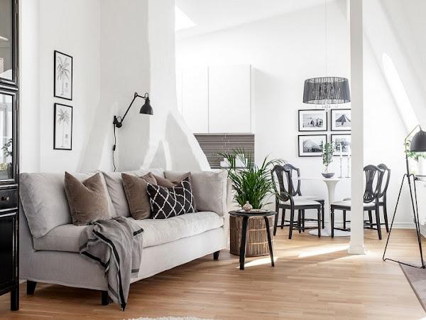 Decorando con sentido, apartamento en Gotemburgo