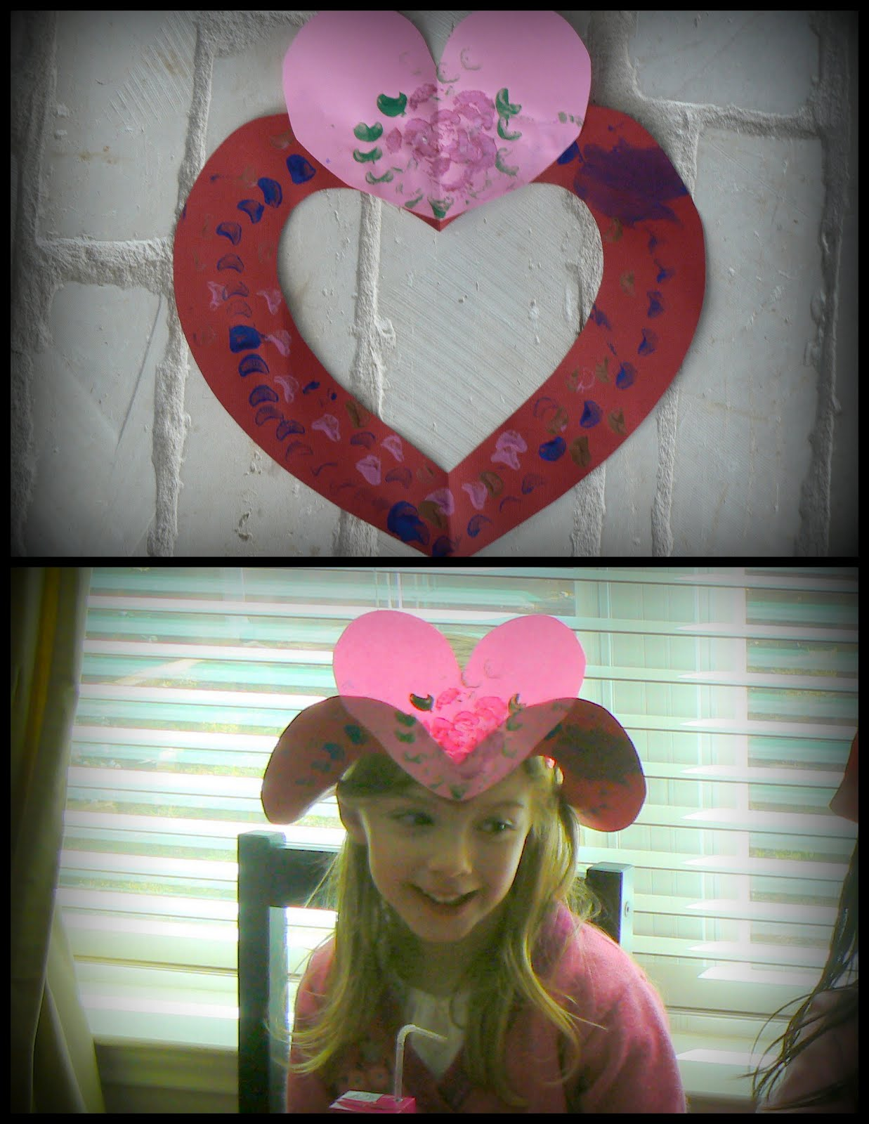 Having Fun at Home: Simple Valentines Day Hat
