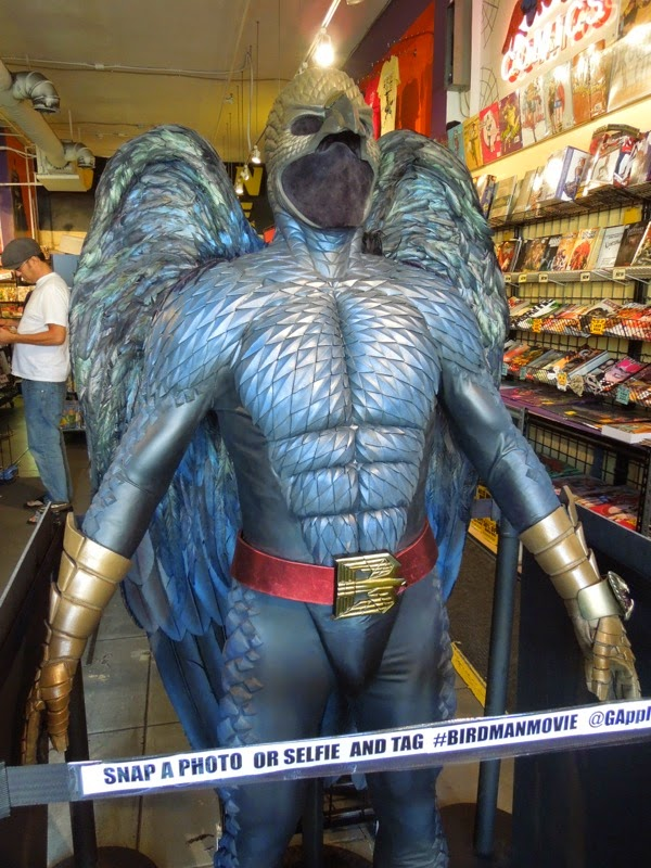 Actual Birdman movie costume