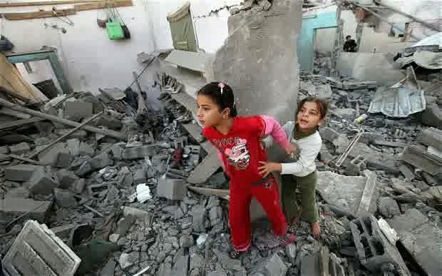 Foto-foto Kondisi Jalur Gaza Palestina Saat Ini 2014