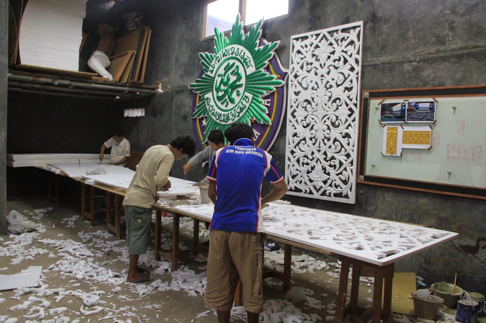 Teknis pembuatan Ornamen Dari Styrofoam