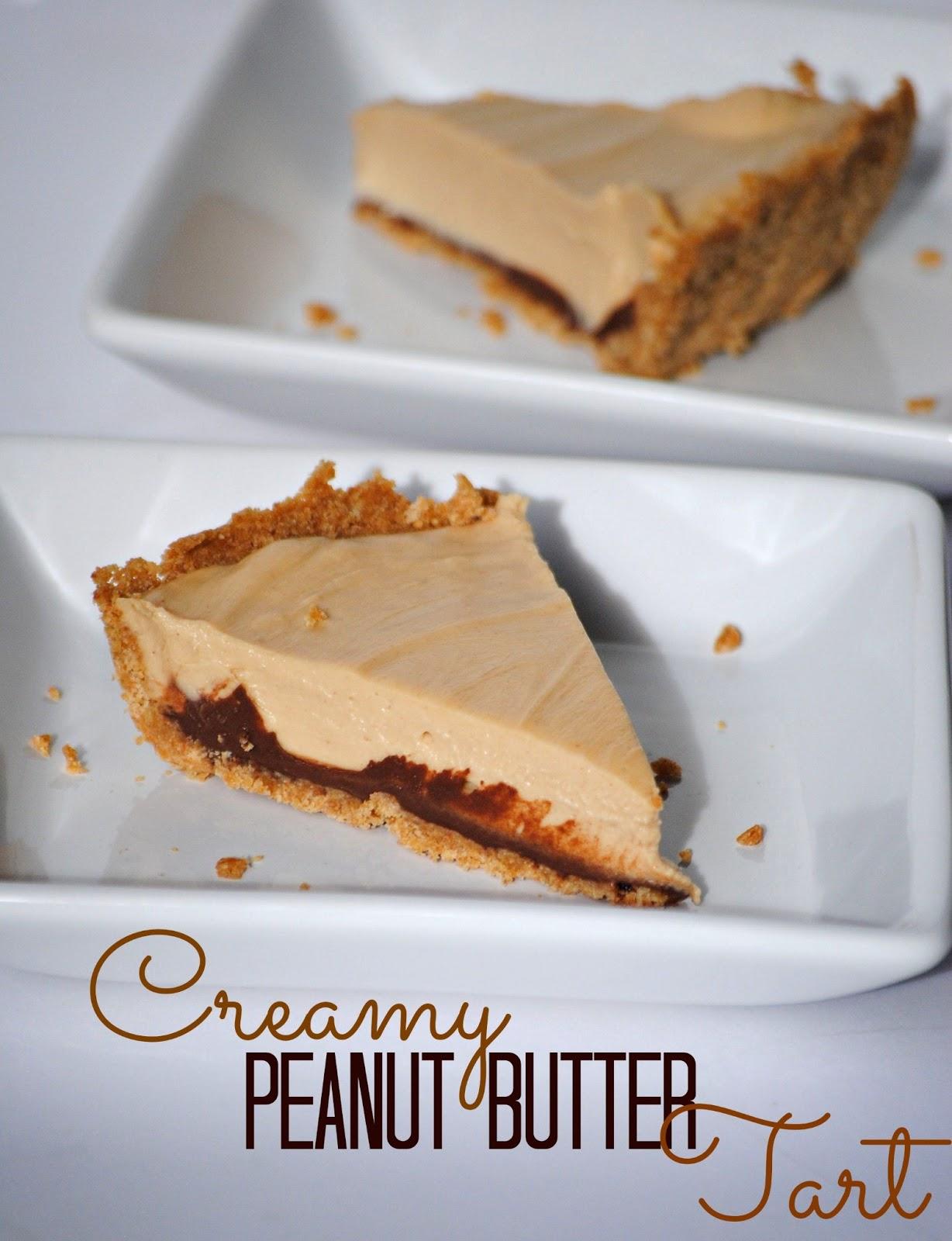 The Farm Girl Recipes: Creamy Peanut Butter Tart