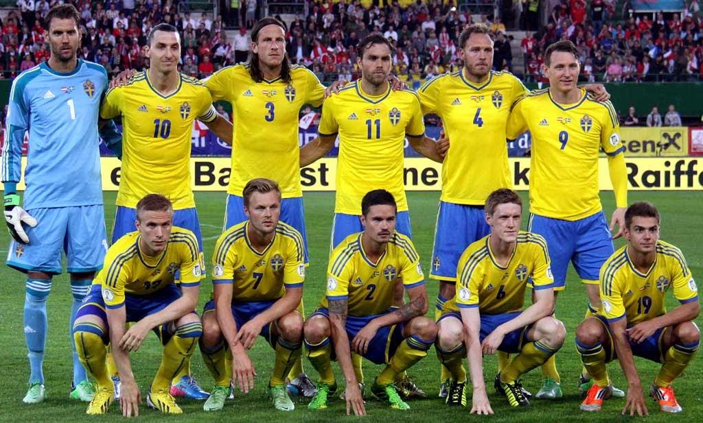 Национален отбор по футбол на Швеция