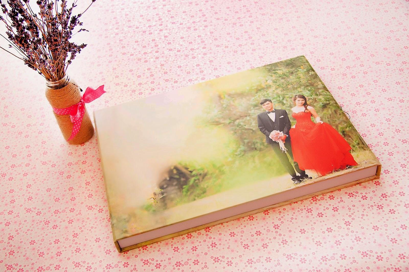 Gia Công-In Album Cát Kim Tuyến-Album 3D,Photobook,Ép gỗ các loại - 23