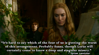 Singular misery Tyrion Lannister quotes