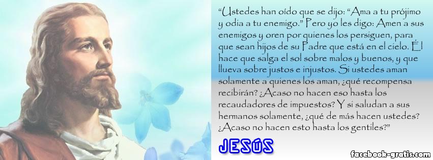 Frase de Jesús en portada