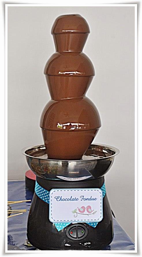 Chocolate Fountain Untuk Majlis Anda