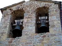 El campanar d'espadanya de Sant Cugat de Gavadons