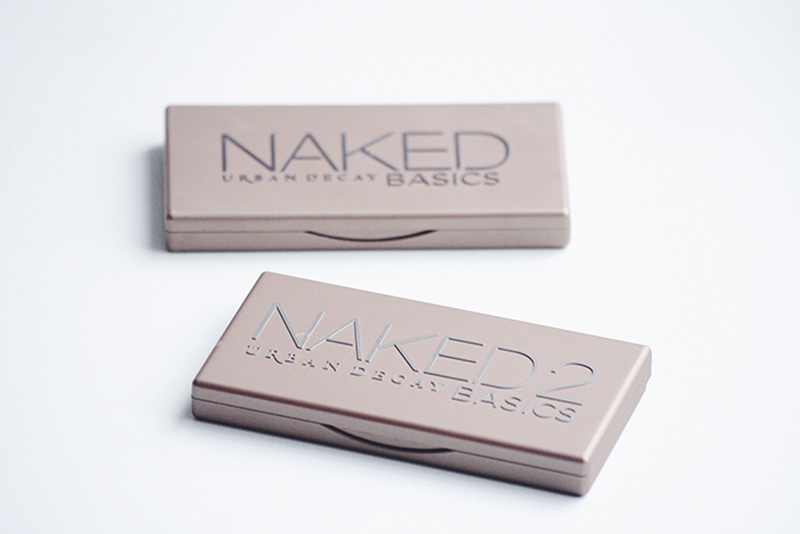 urban decay naked basics and naked basic 2 palette