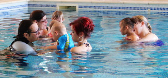 Birthlight special baby & toddler swimming