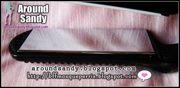 plancha pelo she glam placas: titanio con recubrimiento de nano-plata, turmalina y cerámica