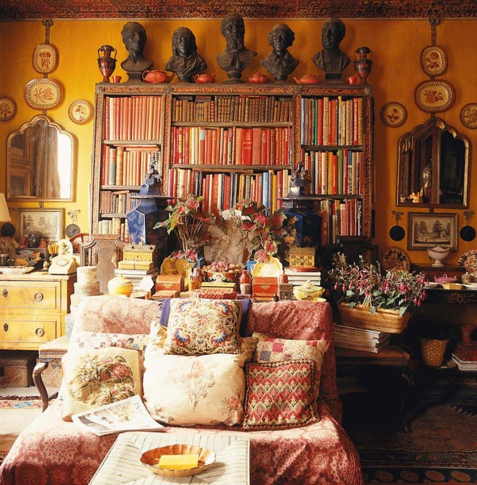 traditional bohemian decor