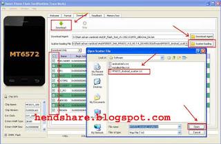 Cara Flash Hp Advan Vandroid S4A Dengan Flash Tool