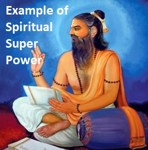 Example of Spiritual power