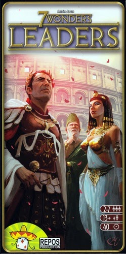 Portada de 7 Wonders: Leaders
