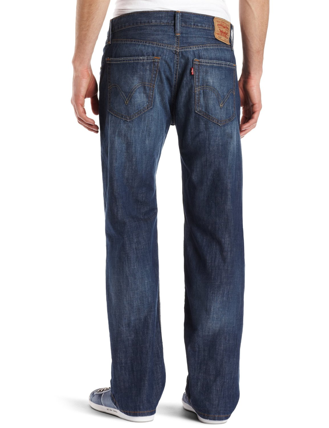 Example Photos for Levis 505 Straight Fit Light Weight Trouser Jean
