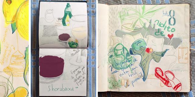 Ilustración verdes de Anita Bonilla