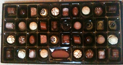 thorntons continental chocolates