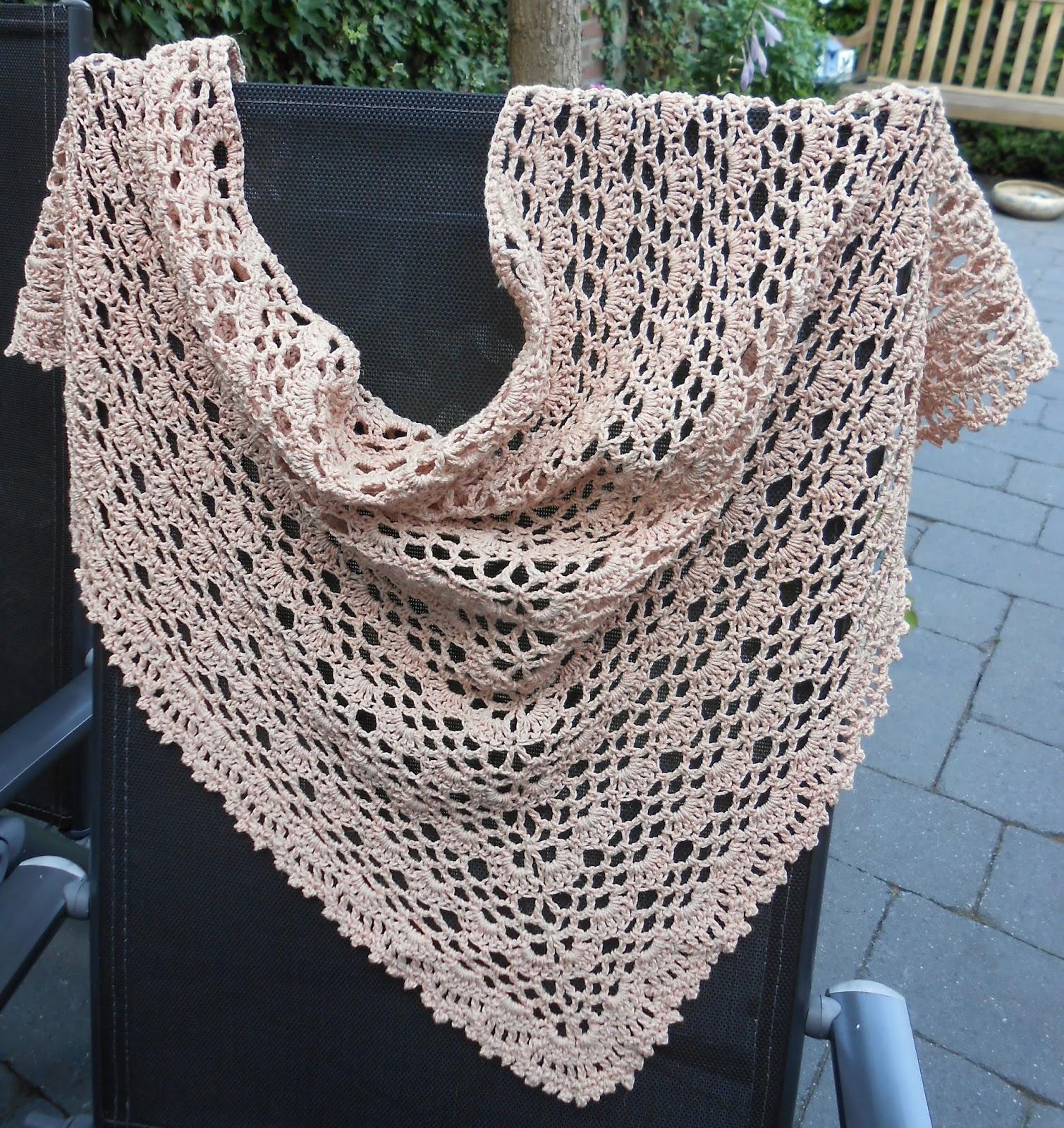 Haak Maar Aan: Zomerse shawl