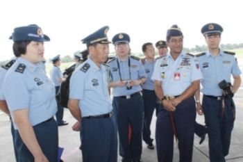 AU China kunjungi Lanud Adisutjipto