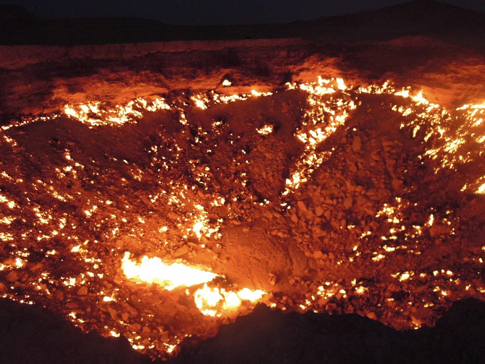 Ma grande vadrouille la porte de l 39 enfer turkmenistan suite - Turkmenistan porte de l enfer ...