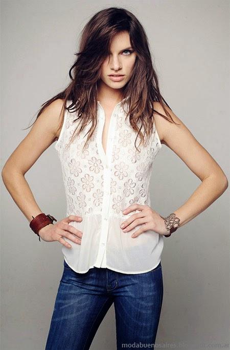 Camisas moda primavera verano 2014 Mab.