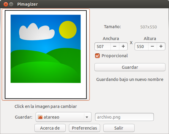 Redimensionar imágenes en Ubuntu facilmente, redimensionar fotografías en ubuntu