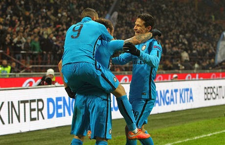 Liga Europa : Inter 2-1 Dnipro