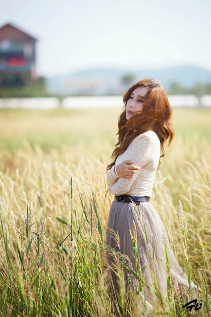 5 Im Min Young outdoor -Very cute asian girl - girlcute4u.blogspot.com