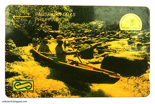 kad telefon awam Malaysia - Visit Asean Year 1992
