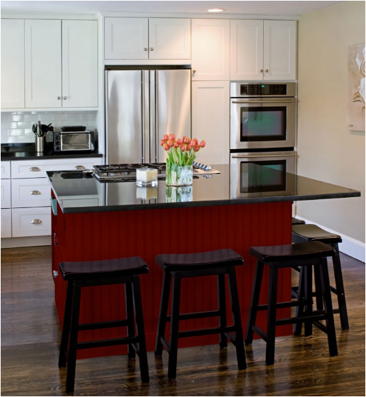 red kitchen ideas simple home architecture design. Black Bedroom Furniture Sets. Home Design Ideas