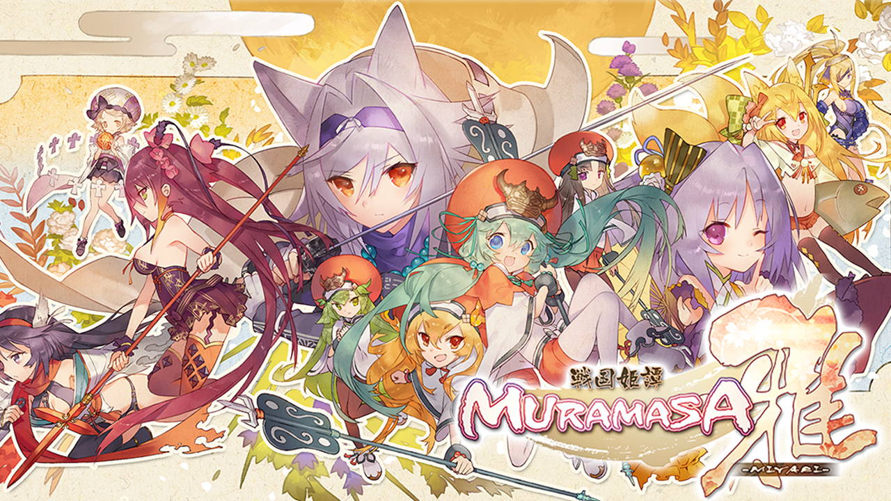 Muramasa Miyabi (戦国姫譚MURAMASA-雅-) Gameplay IOS / Android
