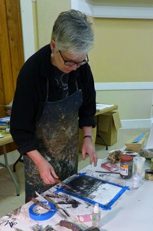 Charcoal Demo & Tutorial by Rebecca Crowley